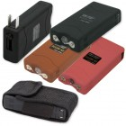 Compact Rechargeable Stun Gun with Flash Light